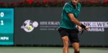 Federer Eyes Off An Australian Open Return