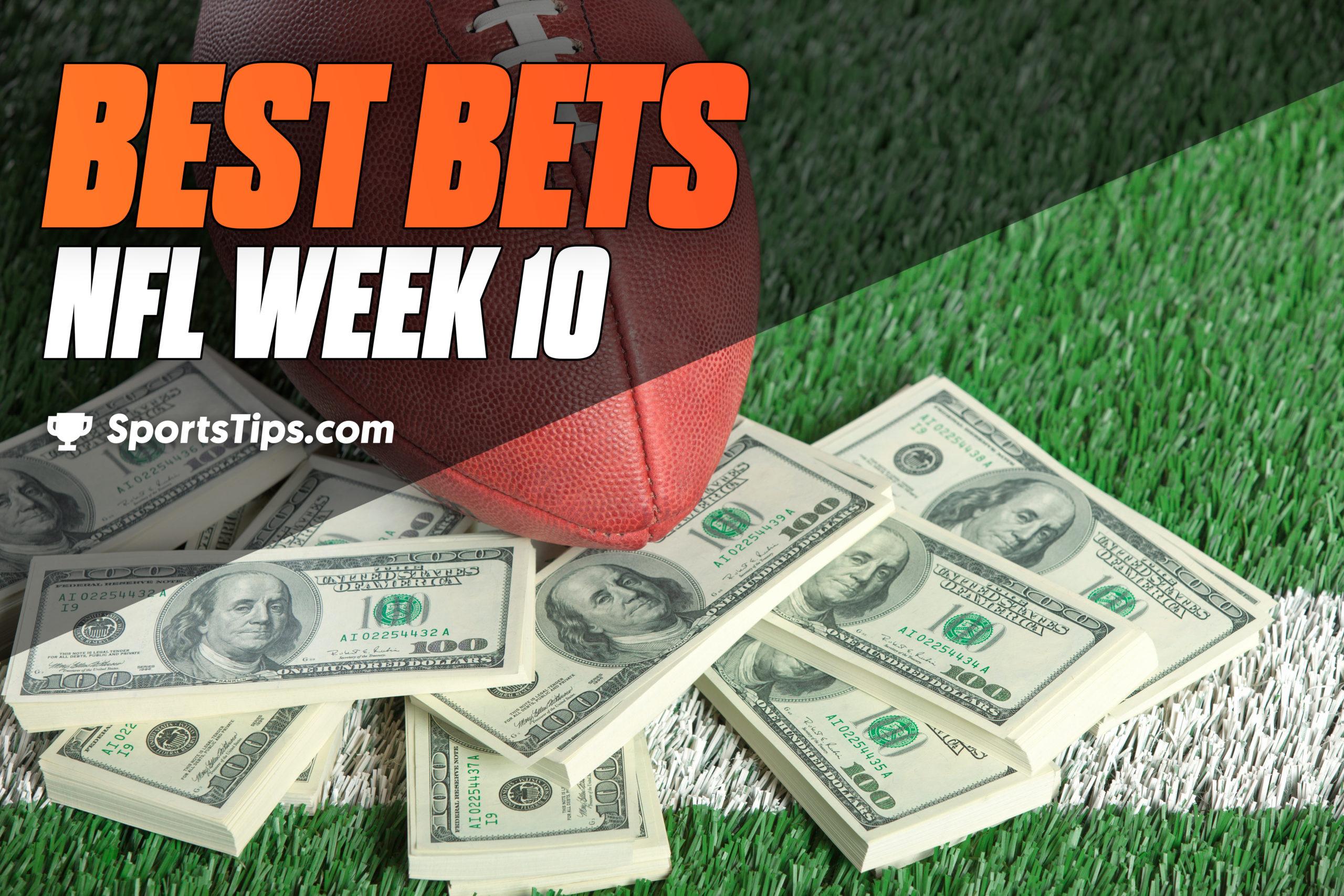 SportsTips' NFL Best Bets For Week 10