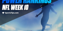 SportsTips' NFL Power Rankings: Week 10
