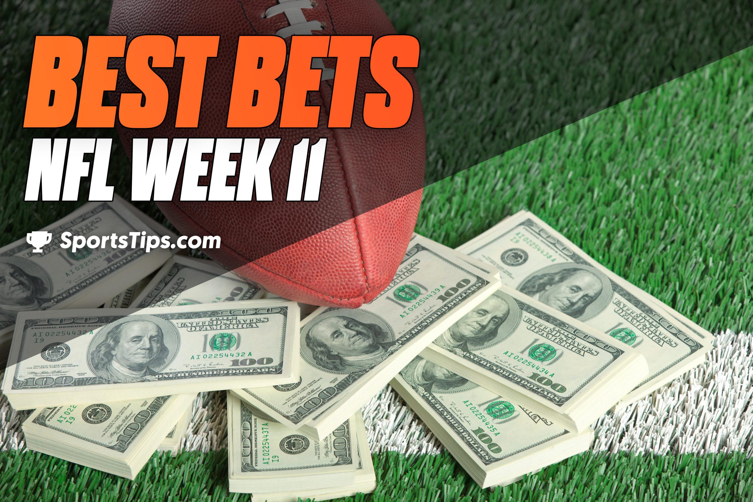 SportsTips' NFL Best Bets For Week 11