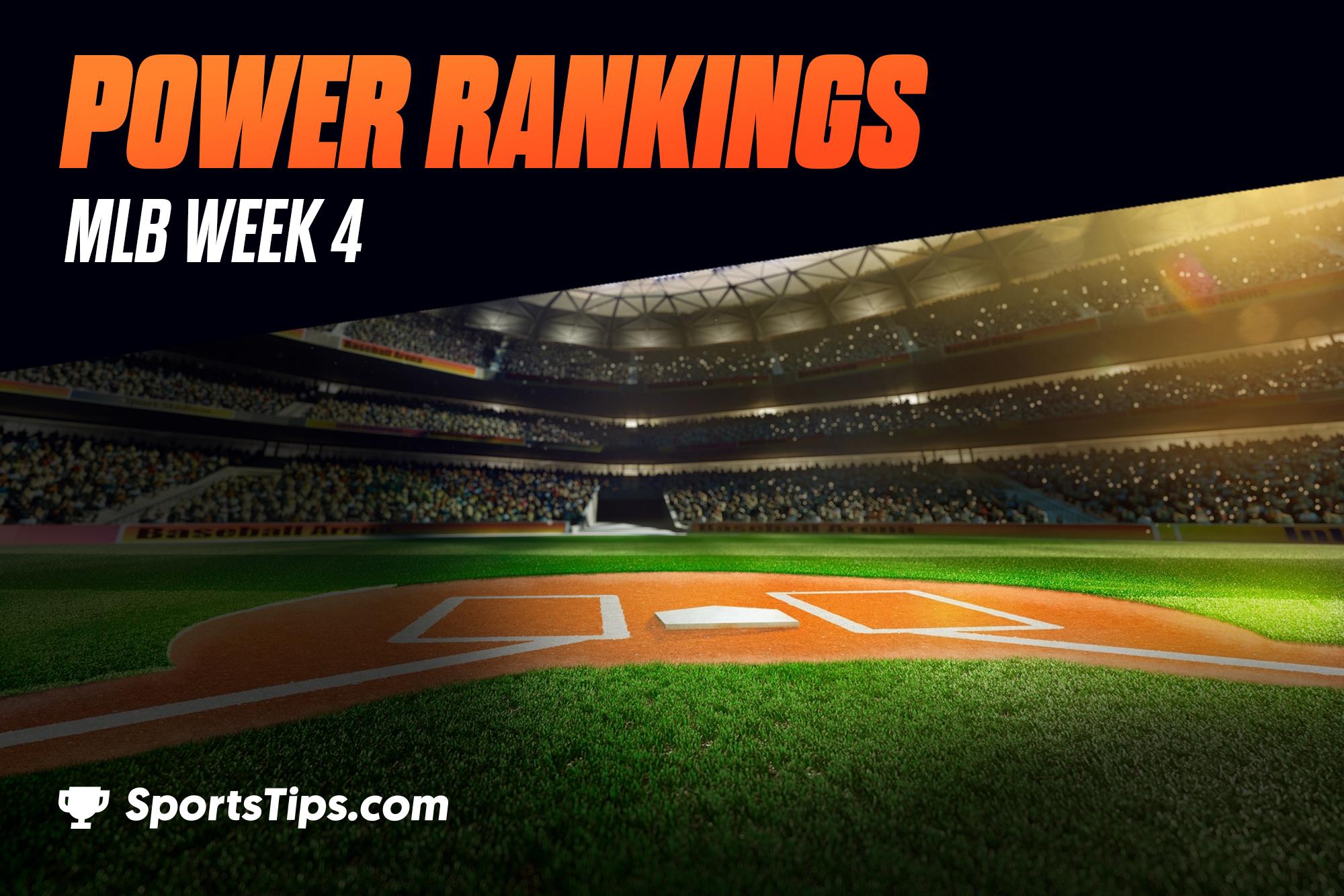 SportsTips' MLB Power Rankings 2021: Week 4