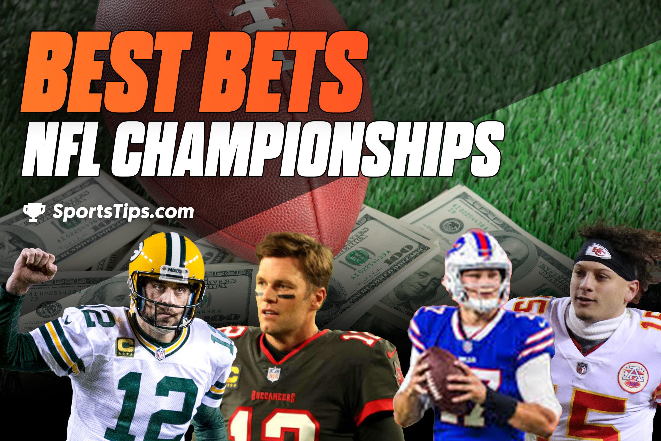 SportsTips' NFL Best Bets For Conference Championships