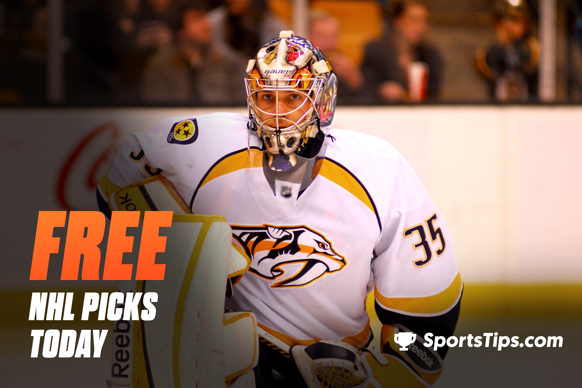 Free NHL Picks Today for Tuesday, February 23rd, 2021