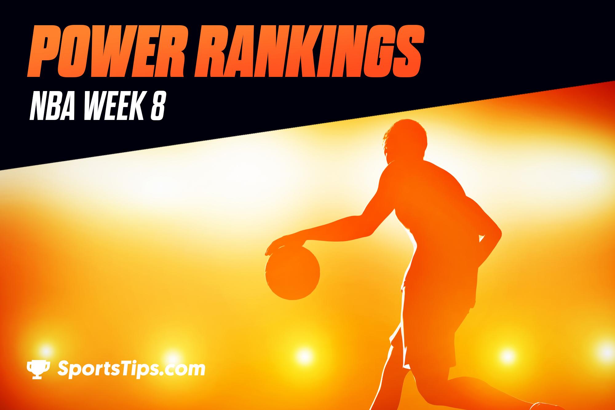 SportsTips' NBA Power Rankings 2021: Week 8