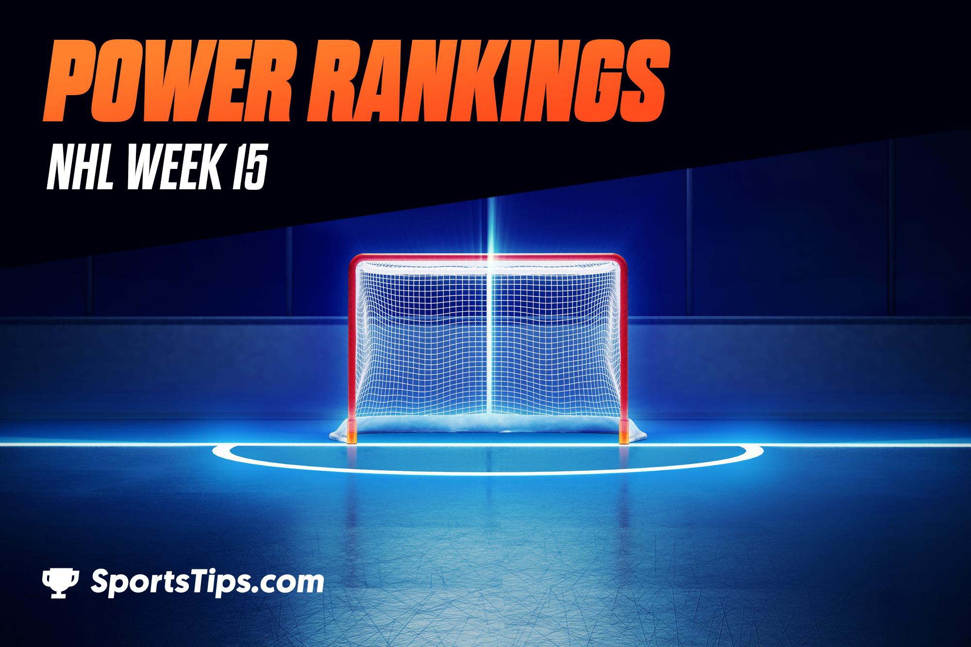 SportsTips' NHL Power Rankings 2021: Week 15