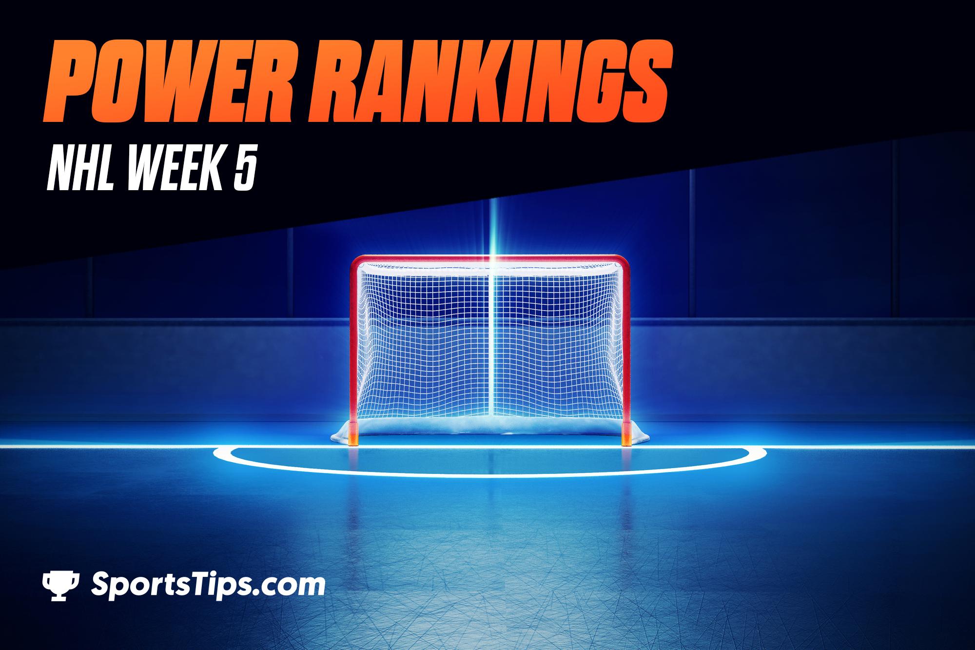 SportsTips' NHL Power Rankings 2021: Week 5