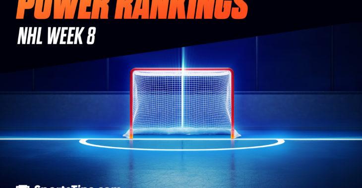 SportsTips' NHL Power Rankings 2021: Week 8